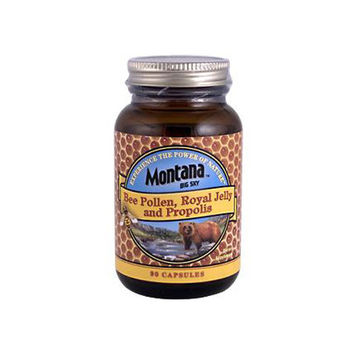 Montana Bee Pollen Royal Jelly and Propolis -90 Capsules-