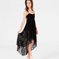 Free Shipping - Adult High-Low Lace Camisole Dress by NATALIE