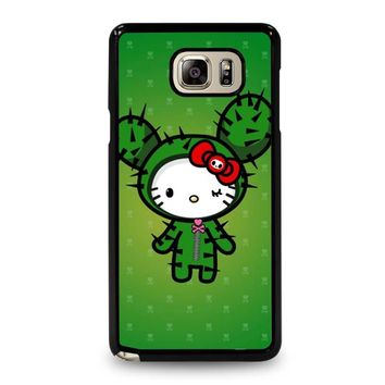 HELLO KITTY DOKITOKI DONUTELLA Samsung Galaxy Note 5 Case Cover