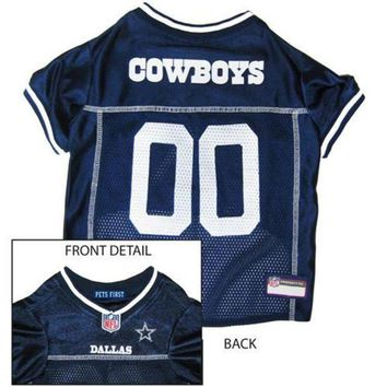 DCCK8X2 NFL Dog Jersey Dallas Cowboys