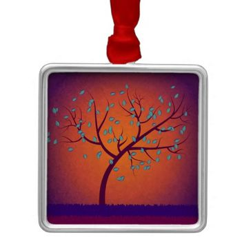 Tree of Life Metal Ornament