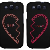 BFF Phone Covers - Best Friends Matching Hearts Phone Cases for iphone 4, iphone 5, iphone 5C, iphone 6, iphone 6 plus, Galaxy S3, Galaxy S4, Galaxy S5, HTC One M8, LG G3