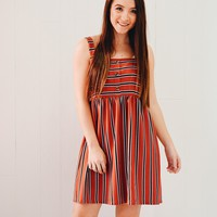 Free Falling Striped Dress