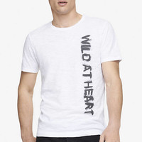 GRAPHIC TEE - WILD AT HEART from EXPRESS
