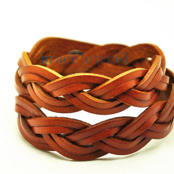 Wrap Bracelet Fashion Leather Bracelet Women Leather Jewelry Bangle Cuff Bracelet Men Leather Bracelet CR15
