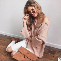 Winter V-neck Sweater [9307390212]