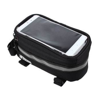 New Cell Phone bag 3.5inch-5.7inch Cycling Bicycle bags panniers Frame Front Tube Bag MTB Bike Touch Screen Bag For Samsung S6