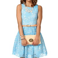 Sale-kat-powder Blue Prom Dress
