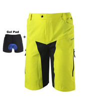 Anti-sweat Cycling Shorts Quick Dry Downhill MTB Shorts Ciclismo Mountain Bicycle Bike Shorts With Gel Pad Underwear