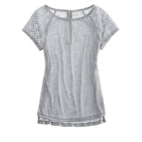 Aerie Crocheted Tee | Aerie for American Eagle