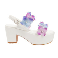 Baby Jane Flower Platforms - Lady Petrova