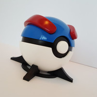 Great Ball Prop, Full-Scale/Resin Cast/Painted with FREE Stand!