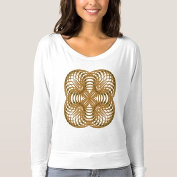 Women's Bella+Canvas Fitted Long Sleeves Sacred T-shirt
