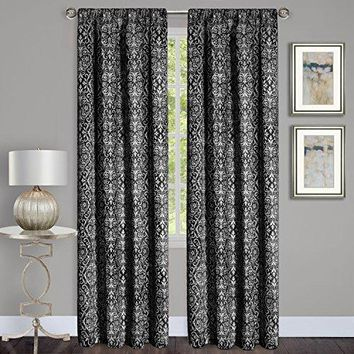 Ben&Jonah Collection Madison Window Curtain Panel - 54x84 - Black