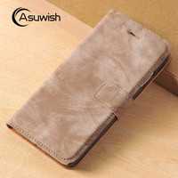 For Apple iPhone 7 Plus Luxury Leather Case Flip Cover Wallet Bag With Card Holder Kickstand Phone Cases For iPhone 6 6s Plus