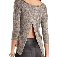Embellished Sweater Knit Top by Charlotte Russe