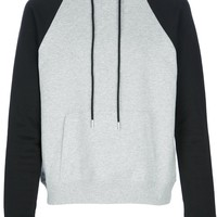Saint Laurent Bi-Colour Hooded Sweater