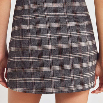 Cooperative Plaid Button-Down Mini Skirt | Urban Outfitters