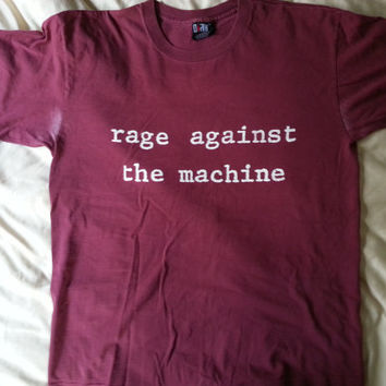 Rage Against the Machine vintage T-shirt