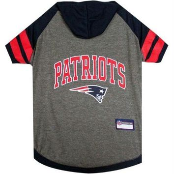 Chenier New England Patriots Pet Hoodie T-Shirt