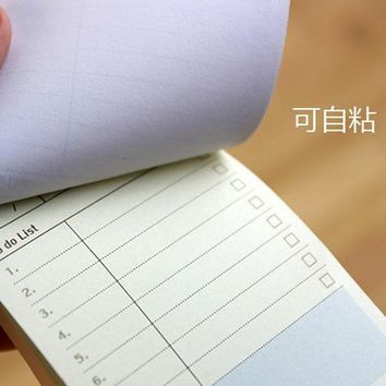 Creative Paper Diary Planner Stickers Sheet To Do List Time Post It Schedule Office And School Supplies Cheap Korean Stationery