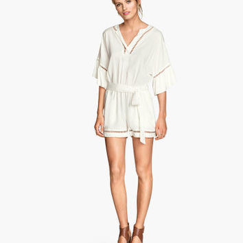 H&M Hemstitch Jumpsuit $39.95