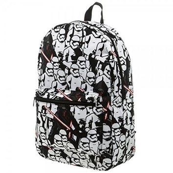 Star Wars Unisex-Adults Trooper/Kylo Ren Backpack, Multi, One Size fits Most