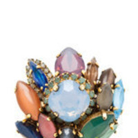 Erickson Beamon | Rear Window Ring in Multi