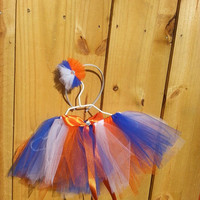 Sport Tutu w/headband/ UF gators/ Florida gators/ Football/ Baseball/ Hockey