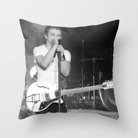 Hunter Hayes Throw Pillow by Michelle Albert