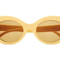 The Love Tempo - Gloss Sunshine Yellow - w/ Mustard CR-39 Lenses - Sunglasses