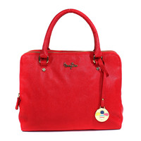 QUEEN BEE Satchel - Red