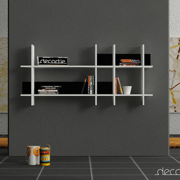 DECORTIE BEADS Bookcase Wall Shelving #