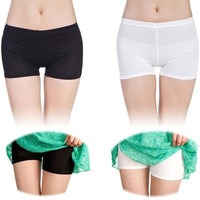 Fashion Women Lady Pants Safety Shorts Leggings Yoga Seamless Basic Plain Tights = 1933055812