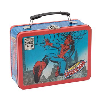 Spiderman Tin Lunch Box