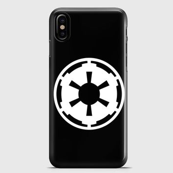 Star Wars Imperial Vinyl Decal iPhone X Case