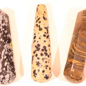 Gemstone Massage Wands