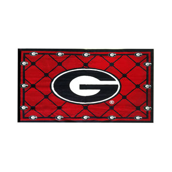 NCAA Georgia Bulldogs 4x6 Area Rug