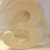 Custom Block Letter Set 5 Letters or Numbers of Choice