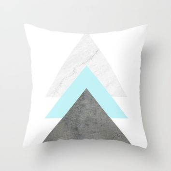 Arrows Collage Throw Pillow by ARTbyJWP