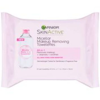 Garnier Skinactive Micellar Makeup Removing Towelettes, 25/Pack | CVS.com
