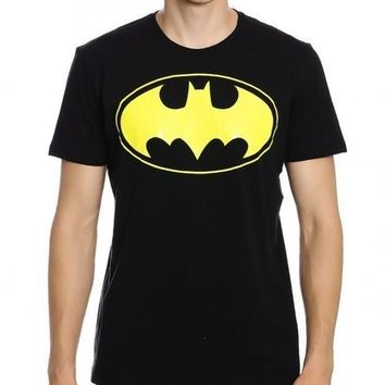 Batman Dark Knights Black Half Sleeve Men T-Shirt