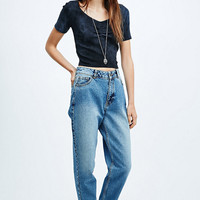 Staring at Stars Ruched Crop Top in Black - Urban Outfitters