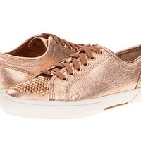 Kors By Michael Kors Boerum Women's Studded Sneakers Shoes (9.5, Rose Gold)