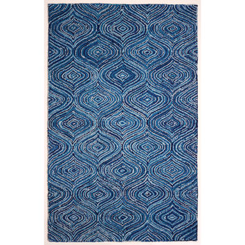Atlas Collection Lantern Blue Skies Rug