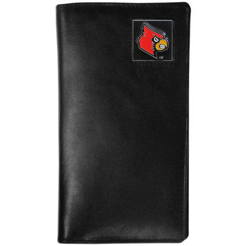 Louisville Cardinals Leather Tall Wallet