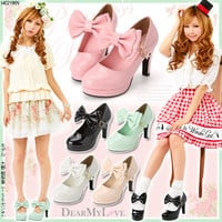 Big ribbon Princess pumps◆3/11 ships planned