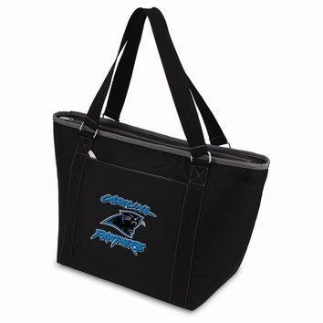 Carolina Panthers Insulated Black Cooler Tote