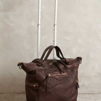Ostana Leather Weekender by 3rd Floor Chocolate One Size Bags
