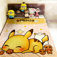 Cute Pikachu - Fleece blanket - FB6